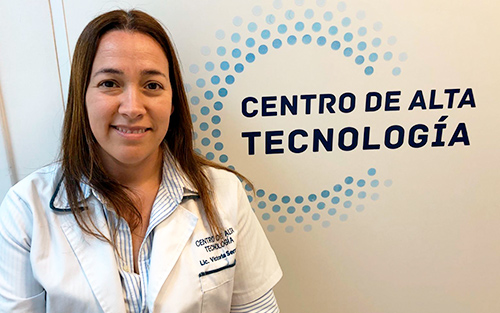 Staff - Centro de Alta Tecnología - Lic. Victoria Serrano
