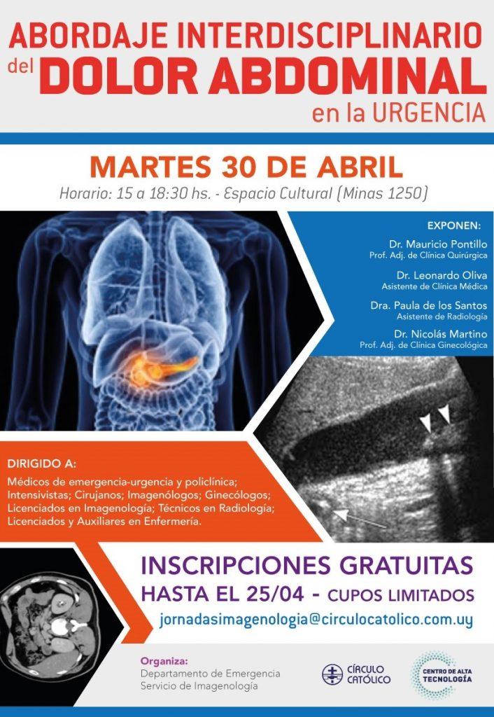 Poster Invitación 1er Jornada Imagenología 2019