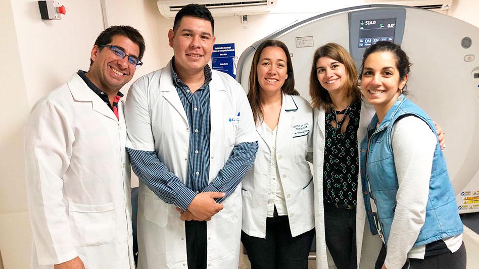 Visita del Licenciado en Radiología Diego Morel - Centro de Alta Tecnología