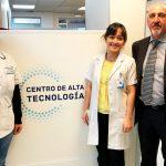 Visita de la Licenciada en Radiología Pamela Salinas Romero - Centro de Alta Tecnología